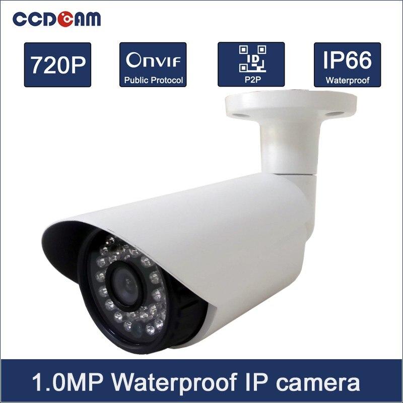 CCDCAM HD 720P Security Camera IR Night Vision Mini CCTV P2P IP Camera Outdoor zoom 2 8 12mm metal hd 720p ip camera outdoor waterproof security night vision p2p mobile alarm
