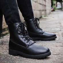New High Quality Genuine Leather Autumn Men Boots Winter Waterproof Ankle Boots Martin Boots Outdoor Working Boots Men Shoes 5 northmarch british vintage men boots luxury designer genuine leather martin men boots autumn business winter ankle boots shoes