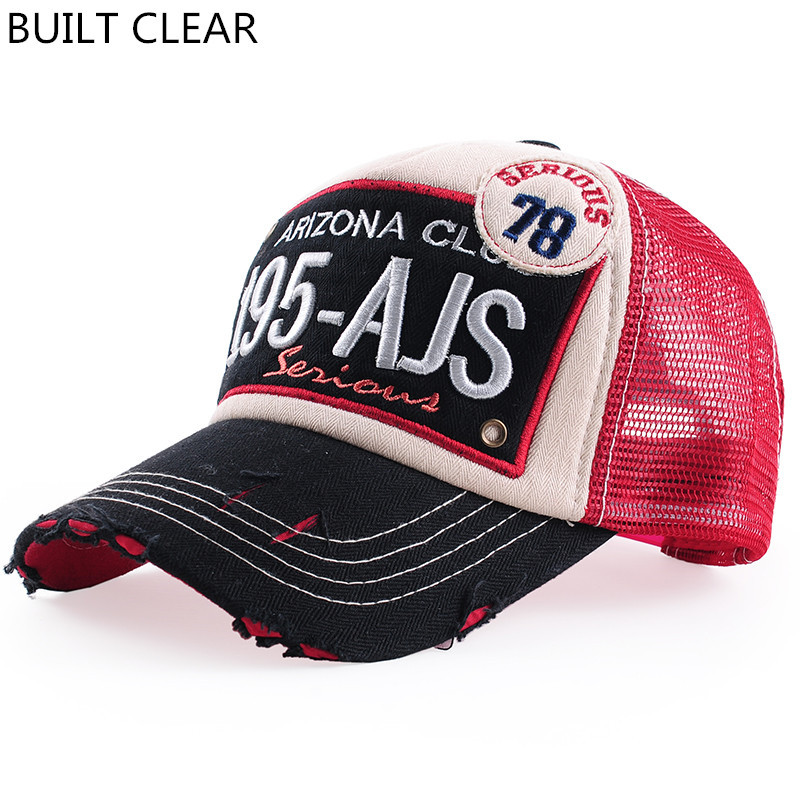 (BUILT CLEAR) brand net hat embroidered father baseball cap men and women cotton leisure CASQUETTE reunion hat man sports cap 2016 new new embroidered hold onto your friends casquette polos baseball cap strapback black white pink for men women cap