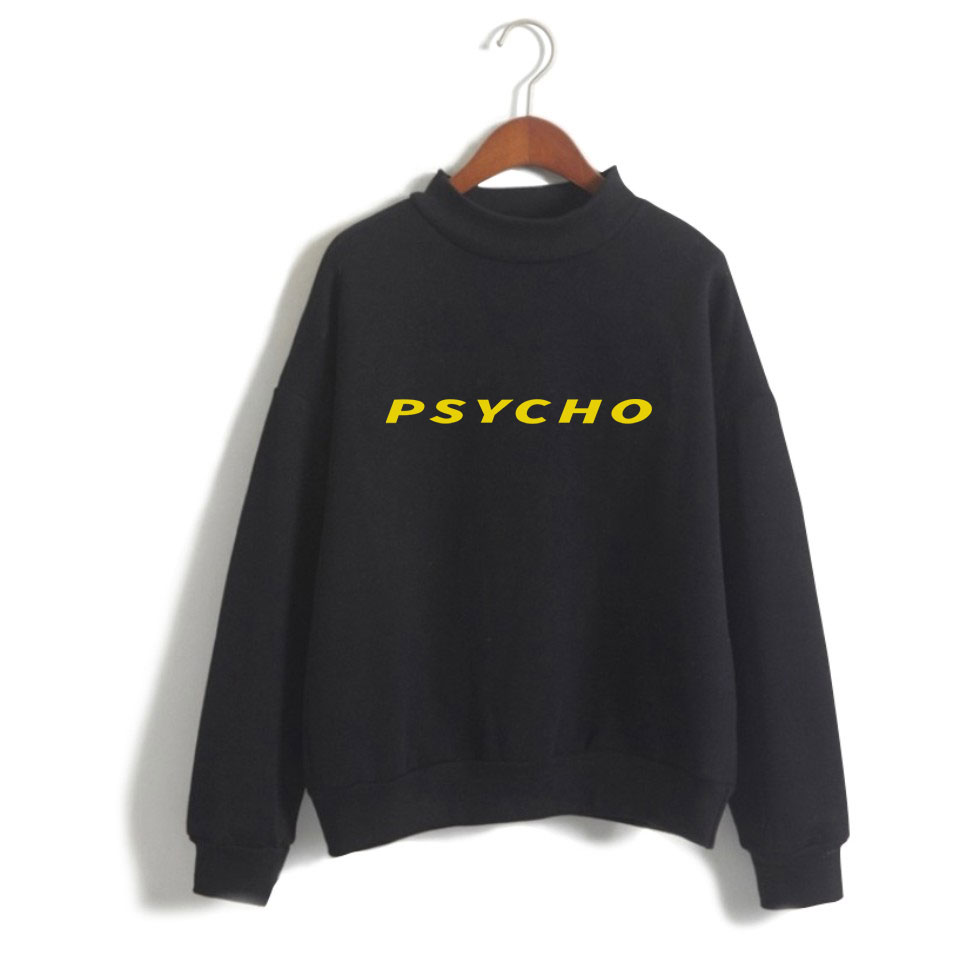 Post Malone Turtleneck Sweatshirt Women Oversize Hip Hop Funny Print Sweatshirt Hoodies Women Clothes Plus Size 4XL