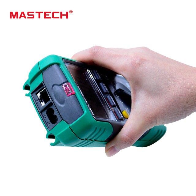 Online-Shop MASTECH MS8236 Digital-Multimeter Netwoek Kabel Tester ...