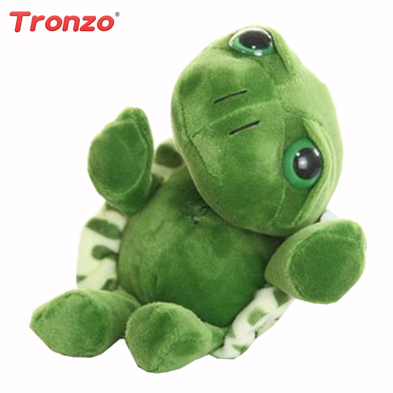 20cm Super Green Big Eyes Stuffed Tortoise Turtle Animal Plush Baby Toy Birthday Christmas Gift