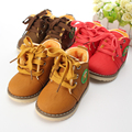 Children's shoes 2016 autumn winters baby hot fashion girls boys high sneakers cotton casual kids boots ninas botas