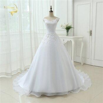 Vestido de noiva beach wedding dress casamento a line cap sleeves robe de mariage vintage boho.jpg 350x350