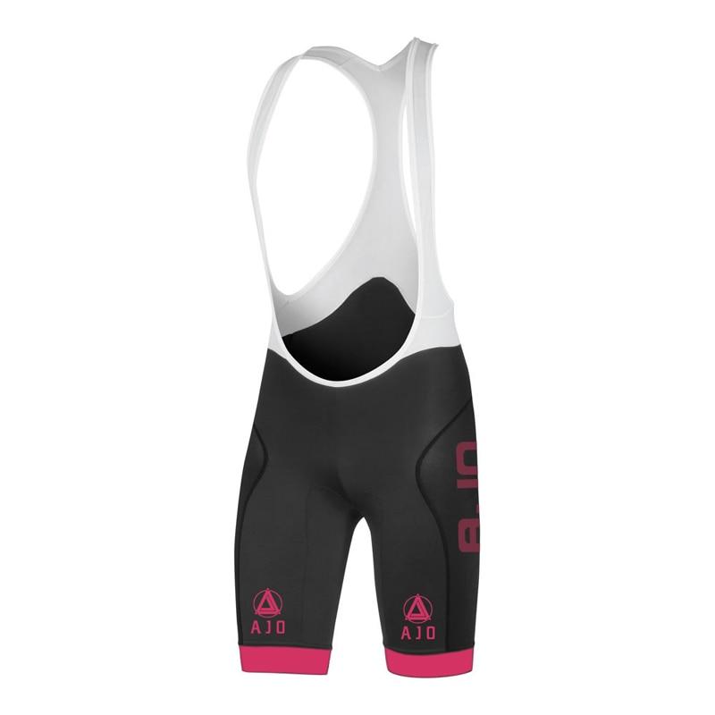 AJO Men's Lycra Riding Culotte Ciclismo Outdoor Mountain Road MTB Bike Shorts Cycling Bib Summer Bicycle Bib Shorts Pants