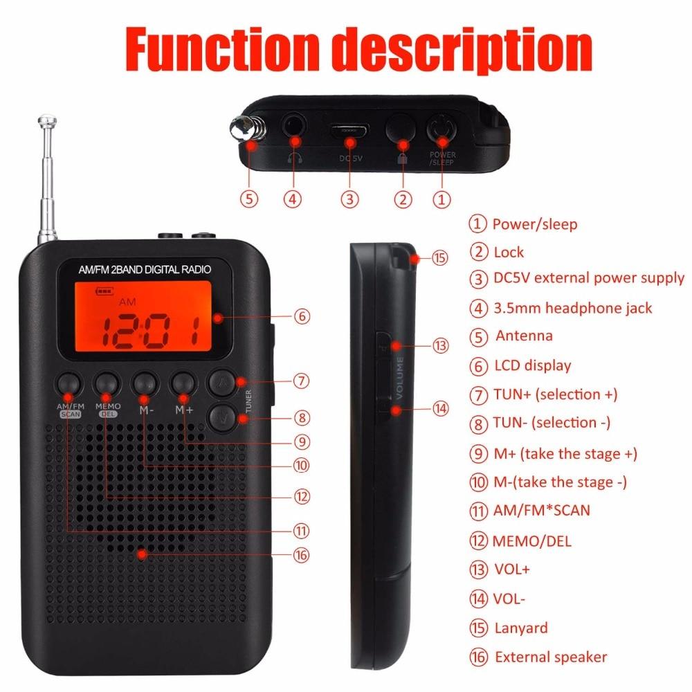 5 mini radio