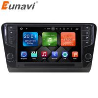 Eunavi 9 Android 6 0 GPS Car Radio Player 2G For Volkswagen Octavia 2014 2015 2016