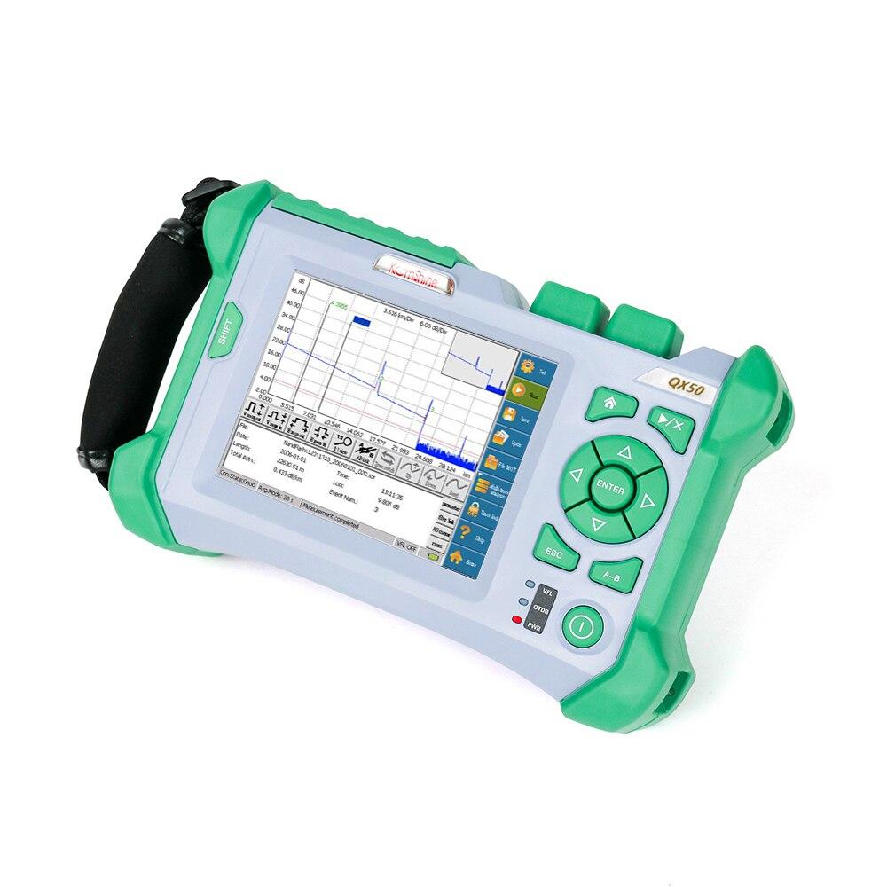 KOMSHINE QX 50 S 1310/1550nm 32/30dB расположение визуальная индикация Функция оптический волоконно оптический рефлектометр связи волокна, оборудование д