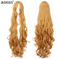 Hot Sale 100cm Portable Aisaka Taiga long curly synthetic hair cosplay wig