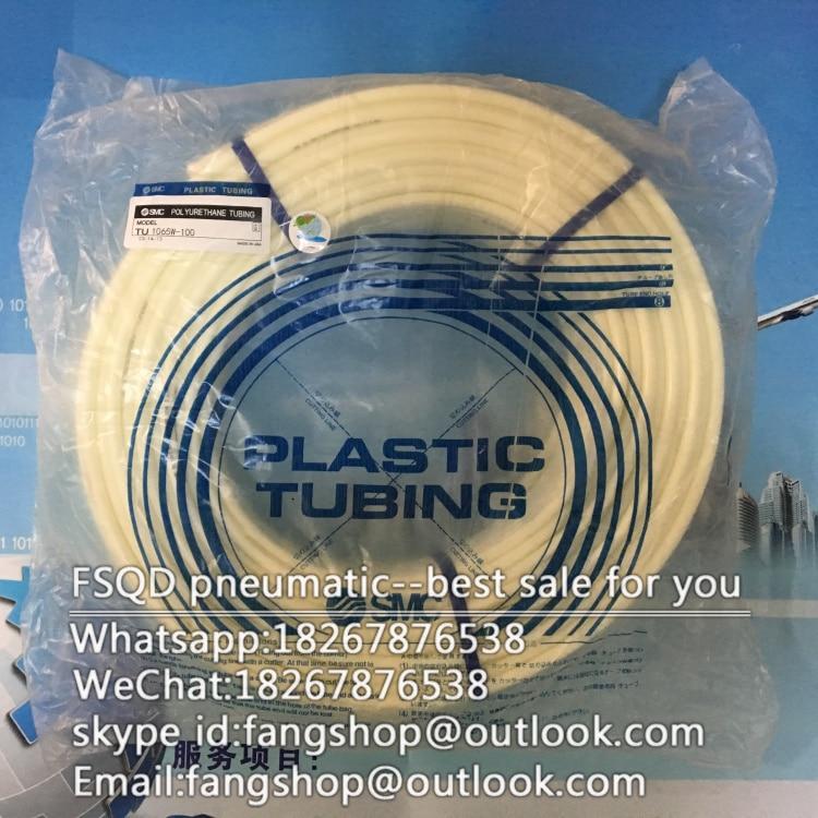 TU1065W-100 SMC tubo Dellaria utensili pneumatici air tubo componente pneumaticoTU1065W-100 SMC tubo Dellaria utensili pneumatici air tubo componente pneumatico