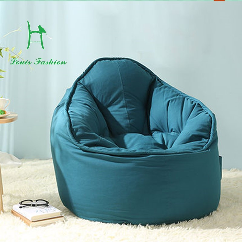Single couch potatoes Creative lazy bean bag sofa A lazy person computer  chair bedroom small sofa chair in Living Room Chairs from Furniture on. Single couch potatoes Creative lazy bean bag sofa A lazy person