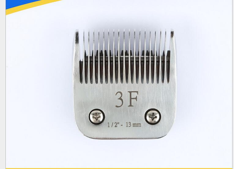 dog clipper blade 3f fit most andis oster and etc clippers steel ceramic 13mm a5