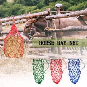 Image 5 - 5.4in Horse Hay Net Donkey Feeding Bag Slow Feeder Forage Bag Equestrian Feeding Supply for 8.8lb(4kg) of Hay Horse Accessory