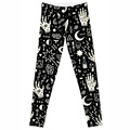 HOT Sexy Fashion Hot Pirate Leggins Pants Digital Printing STARS &hand &moon LEGGINGS - LIMITED For Women Drop Shipping