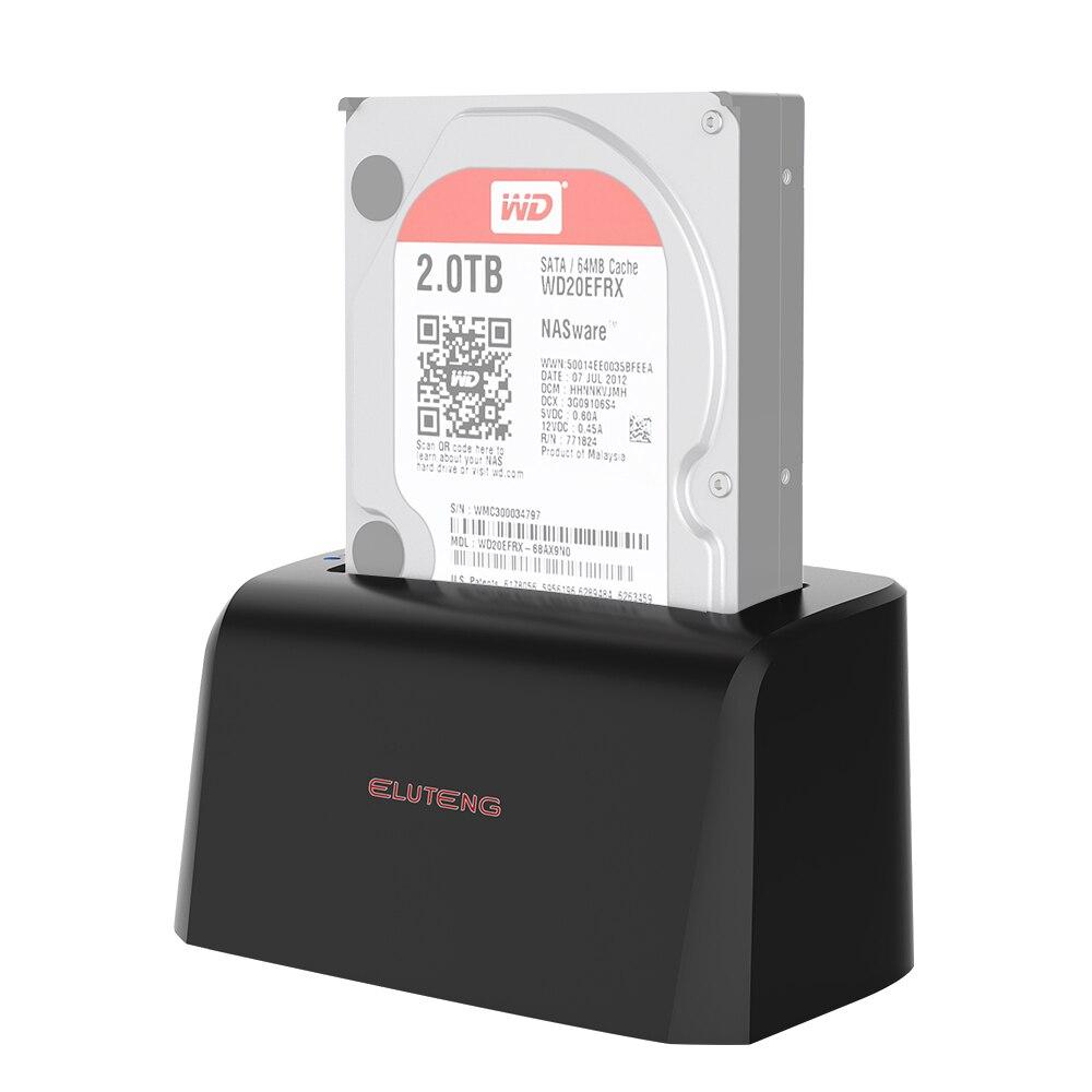 """Prix pour ELUTENG USB3.0 HDD Station D'accueil 2.5 """"3.5 pouce Disque Dur UASP Externe SSD Duplicateur Mount Adapter 8 TB Disque Dur Boîtier"""