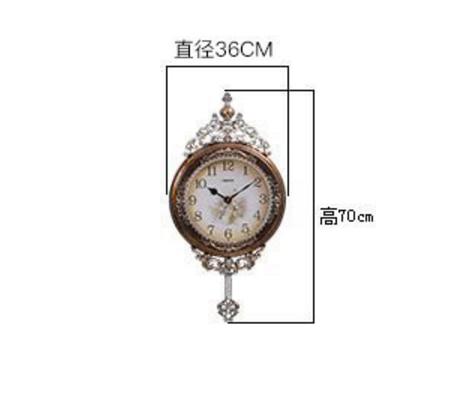 Horloge murale européenne salon pendentif horloge muette belle atmosphère rétro montre américaine horloge avec pendule horloge à Quartz