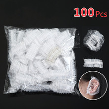 100pcs/lot Waterproof Disposable Ear Cover Bath Shower Salon Ear Protector Cover