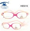 С милой чехол марка очки дети италия дизайнер дети оправы для очков ремень по уходу за детьми стеклянная рамка