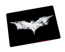 bat black mouse pad best buy gaming mousepad notbook computer mouse pad cool 9 size large mat to mouse gamer free shipping(China)