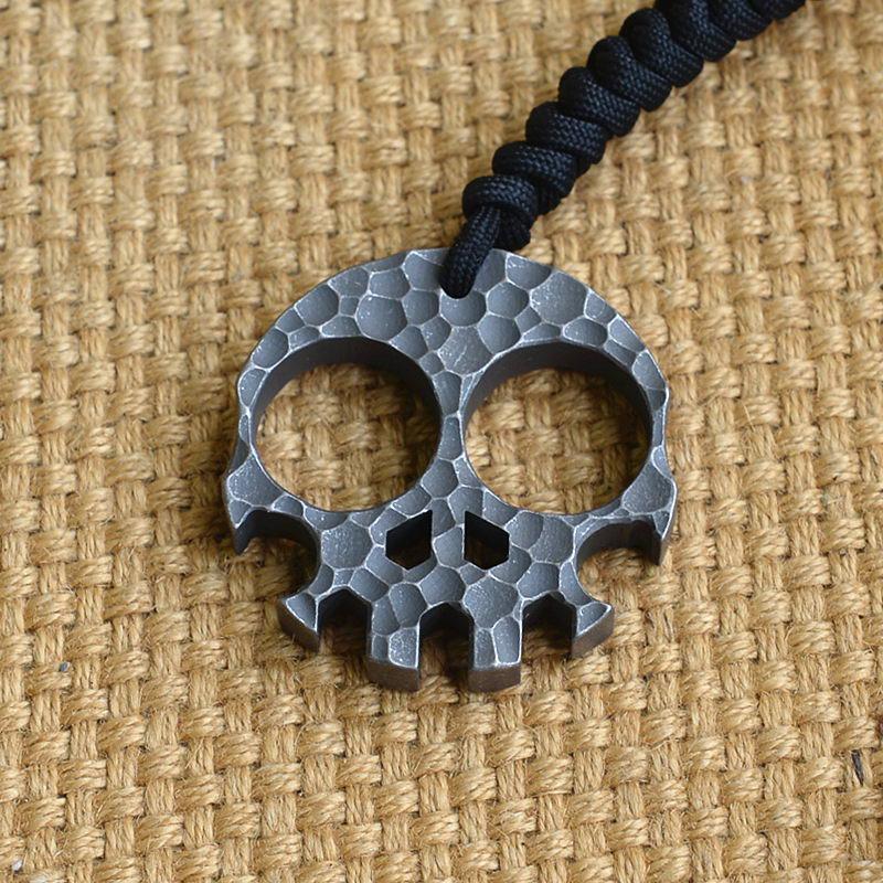 Titanium Meteorite Defense Self-defense EDC Broken Window Keychain Bottle Opener недорго, оригинальная цена