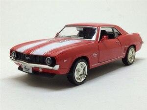 Image 2 - Camaro, 1/36, échelle américaine, modèle de voiture en métal moulé, 1969, échelle, jouet, Collection cadeau danniversaire pour enfants, livraison gratuite