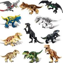 12 pieces of 20cm simulated solid dinosaur model toy Tyrannosaurus Pterosaur Tricerosaur