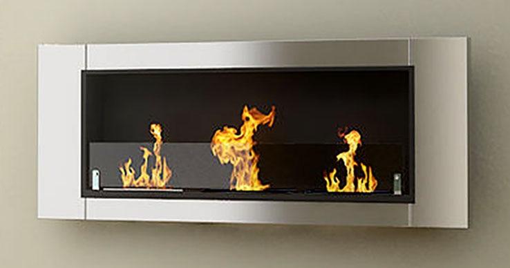 Redooflame Bio Ethanol Fireplace Fd30b With Stainless Steel Bio