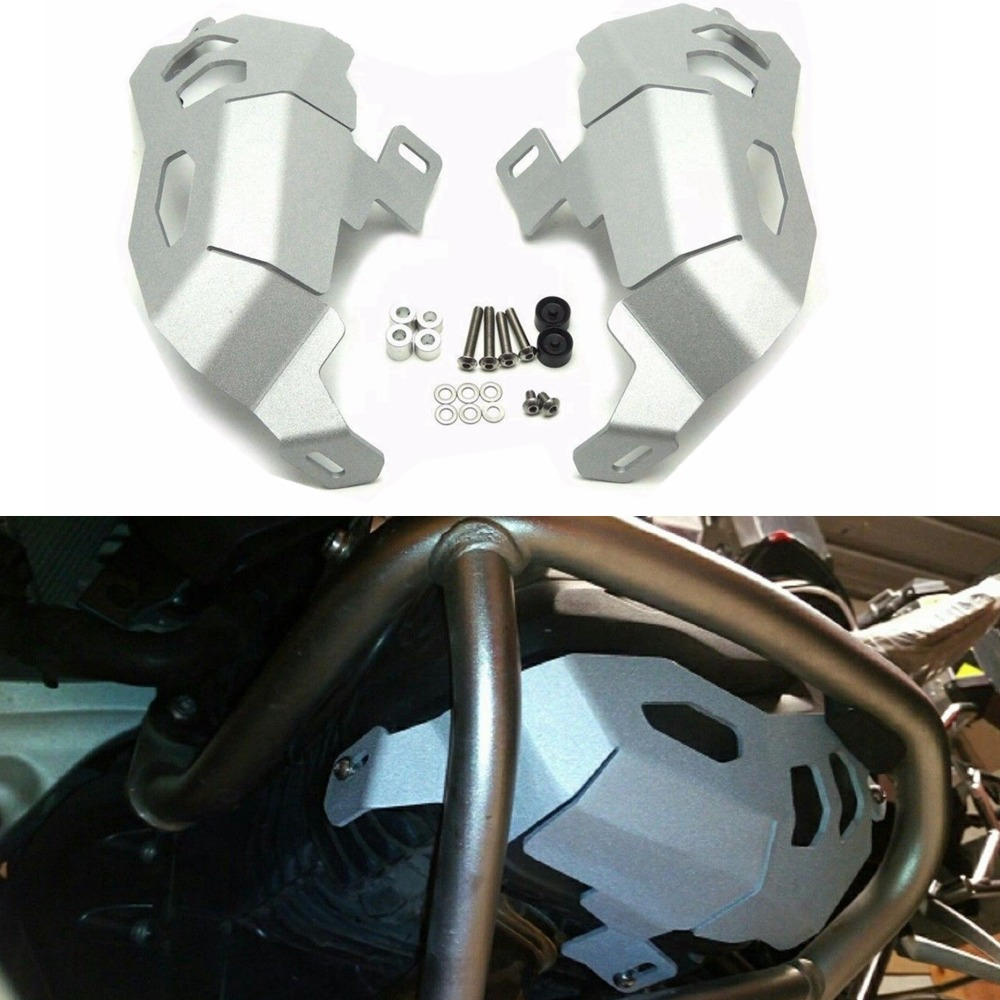Motorcycle Accessories Cylinder Head Guards Protector Cover for BMW R1200GS R 1200 GS Adventure 2013 2014