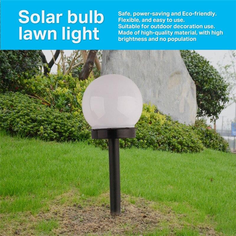 Garden LED Energy Solar Light Waterproof Bulb Outdoor Camping Garden Lawn Night Lights Solar Lamp Led Lights With Solar Panel