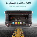 2 дин Android 6.0 Автомобилей Радио DVD GPS Навигация Для Volkswagen VW Caddy Golf Jetta Polo Седан Passat Touran EOS 3 Г + DVD Automtivo