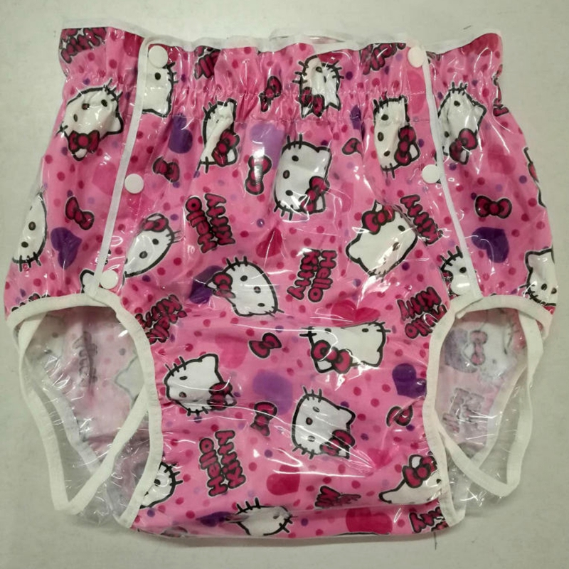 Free Shipping NICEDIAPER2221-Pink cat  Diaper cover waterproof trousers incontinence products ABDLFree Shipping NICEDIAPER2221-Pink cat  Diaper cover waterproof trousers incontinence products ABDL