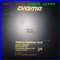 "Black 10.1"" inch touch screen For Digma Optima 10.8 TS1008AW 3G tablet PC Touchscreen panel Digitizer Glass Sensor replacement"