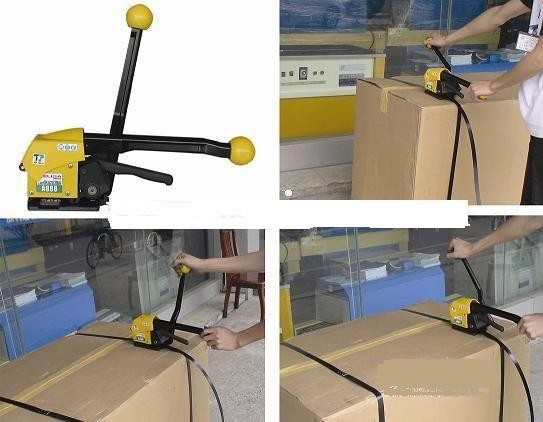 Manual handy strapping tool,plastic handle,electrical PP packing equipment, A333 Packing straps, Carton banding machine portable manual steel strapping tool seal free 1 2 3 4 handheld packaging equipment without seals steel banding machine a333
