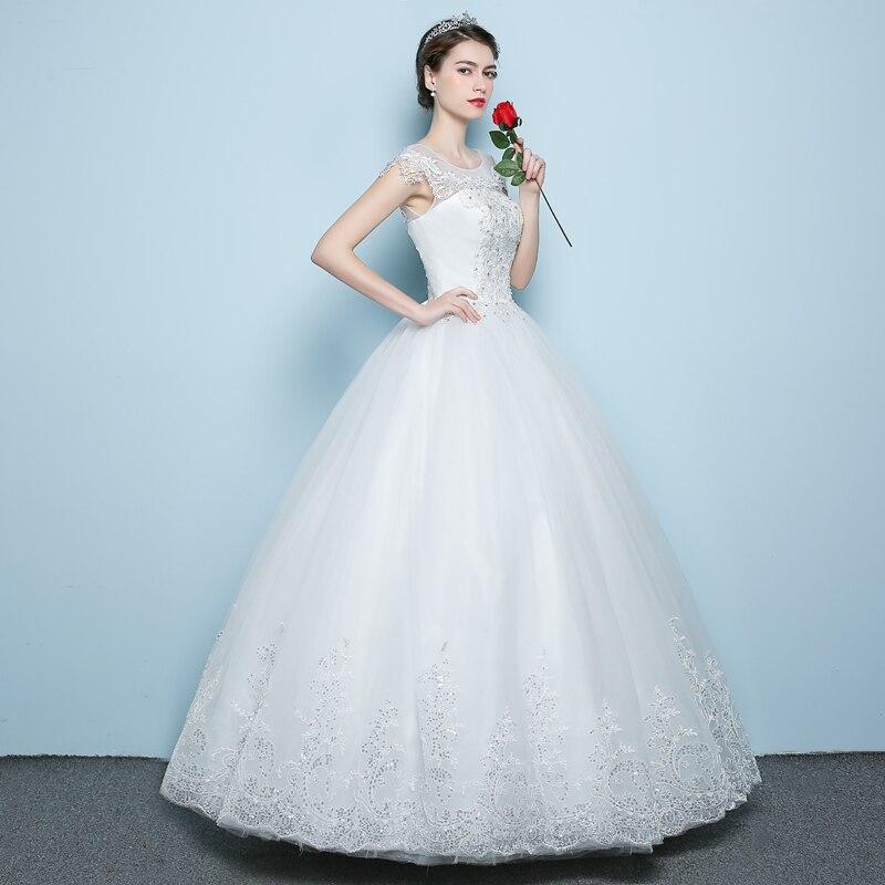 2018 Rochie de mireasa rochie de mireasa Lace Body Pearls Rochie de - Rochii de mireasa - Fotografie 3