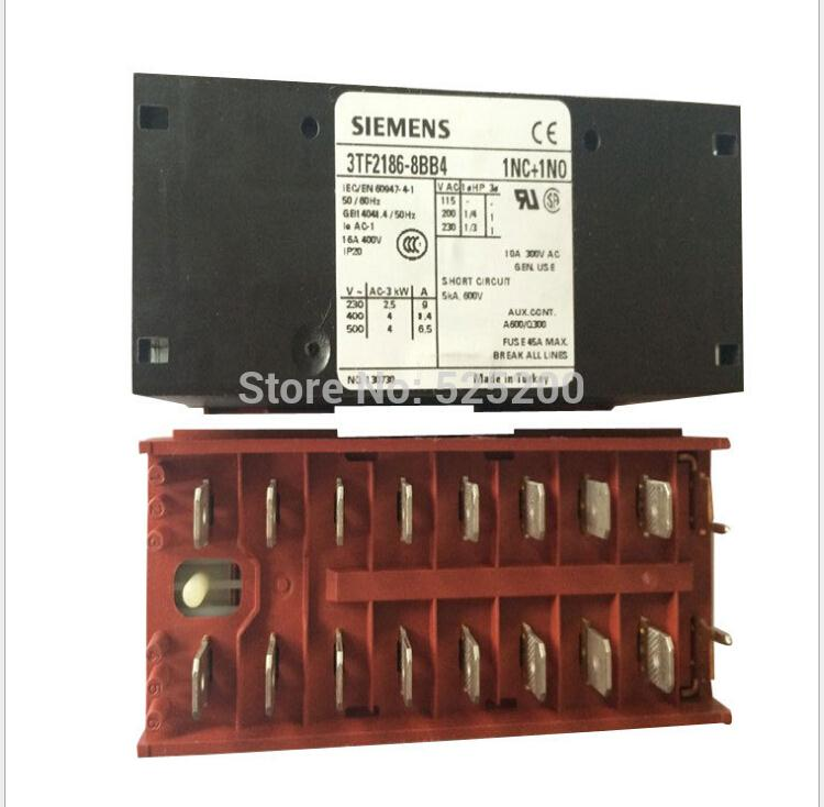 f3TF2186-8BB4 Siemens Contactor Relay no 300pc 8 bb 3