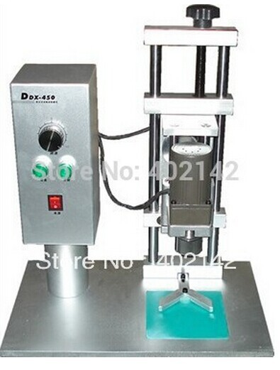 Free Shipping High Quality DDX450 Desktop Electric capping machine screw capper round cap sealing machine diameter