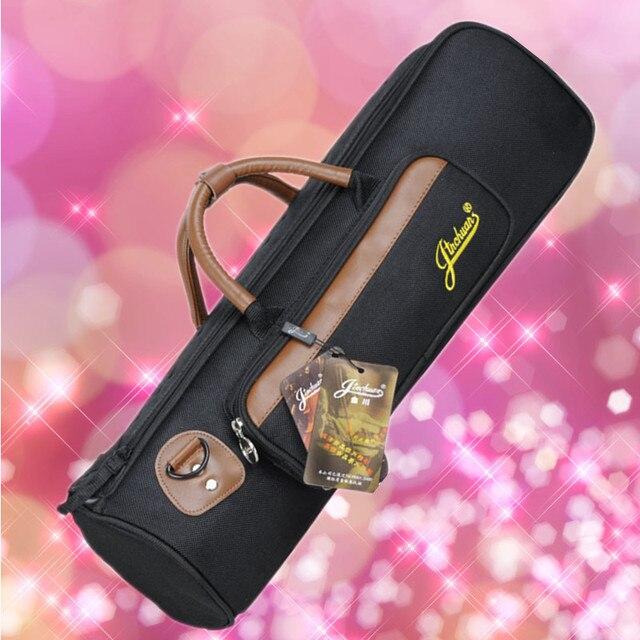 52*13*16 cm Wholesale professional portable durable trumpet bass bag backpack shoulder strap soft gig case padded cover pocket
