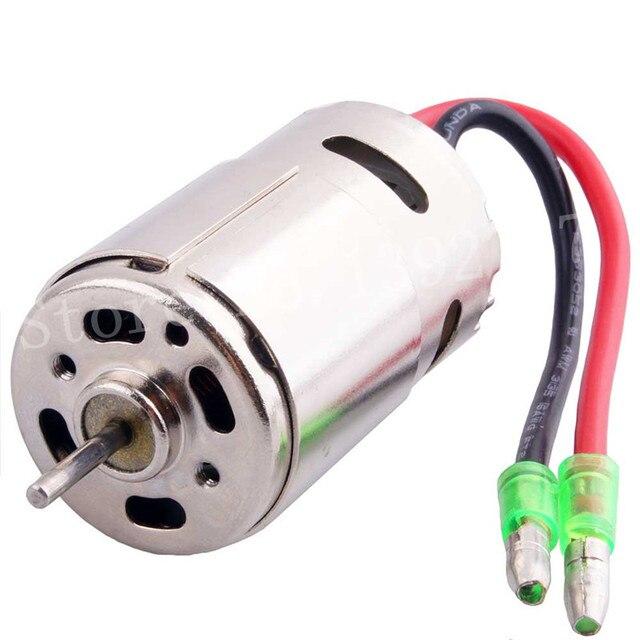 Puissant 390 moteur 28000 tr/min 7.4 V pour 1/16 1/18 modèles à léchelle télécommande voiture RC moteur électrique puissance 320A ESC Wltoys HSP