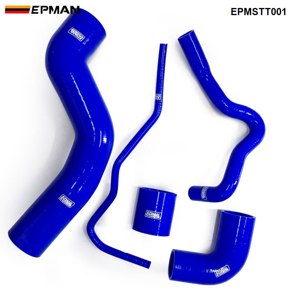 EPMAN Silicone Intercooler Turbo Boost Hose Kit For Seat 1 8T 150 A3 150ps 5pcs EPMSTT001