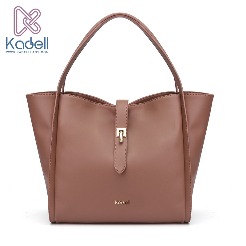 Kadell Luxury Handbags Women Bags Designer Women Famous Brands Lock Catch Tote Bolsas High Quality Leather Shoulder Bag luxury handbags women bags 2017 famous designer handbag high quality women shoulder messenger bags mom bag tote bolsas femininas