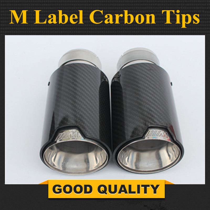 Free Shipping 1 PCS M Performance Akrapovic carbon fiber Exhaust Tip for BMW Series M3 M4 M5 2012- car-styling car exhaust new m performance carbon exhaust tip for bmw series m3 m4 m5 2012 car styling akrapovic car exhaust muffler nozzle tip