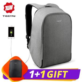 17ba1af9f988d Tigernu Moda Su Geçirmez, Anti hırsızlık USB 15.6