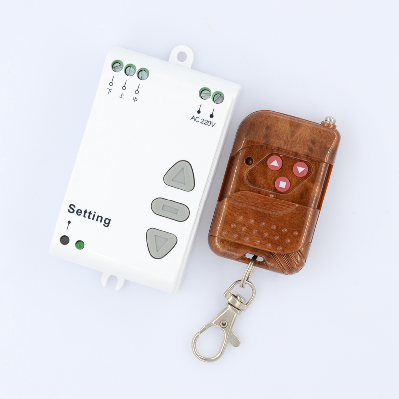 AC 220V Motor Remote Controller Motor Up Down Stop Remote Switch Motor Forward Reversing RF Wireless Switch ASK Smart Home
