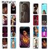POINTE-NOIRE Femme noire de Bande Dessinée Coque Shell Cas de Téléphone pour Apple iPhone 8 7 6 6 s Plus X Xs Xr xs max 5 5S SE 5C Couverture