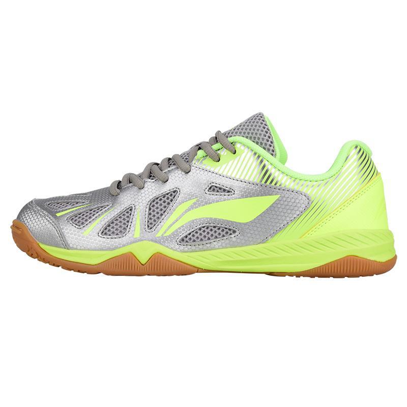 Новинка, Li-ning, мужская сборная обувь для настольного тенниса, анти-скользкая эластичная лента, профессиональные спортивные кроссовки - Цвет: APTM003-3