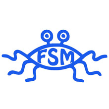 Flying Spaghetti Monster Funny Cartoon Spider Crab with Big Eyes Shape Car Sticker for Bumper Home Decor Vinyl Decal 9 Colors