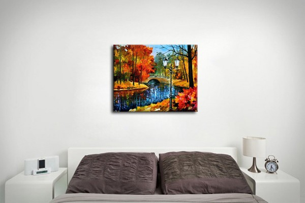 aliexpress : buy nice autumn landscape handpainted oil
