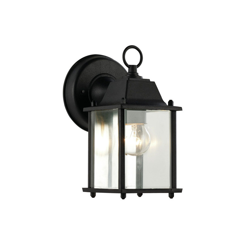 12pcsX Outdoor Led Porch Lights Wall Sconces Waterproof Outdoor Lamps for Balcony/Aisle/Corridor/Garden(Black) Outdoor Light