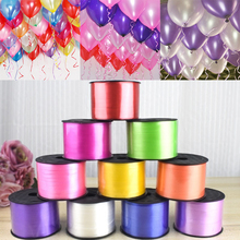 Hot 5MM X 100Yards Party Gifts Decorations Festival Supplies Balloon Ribbon 1PC DIY Wedding