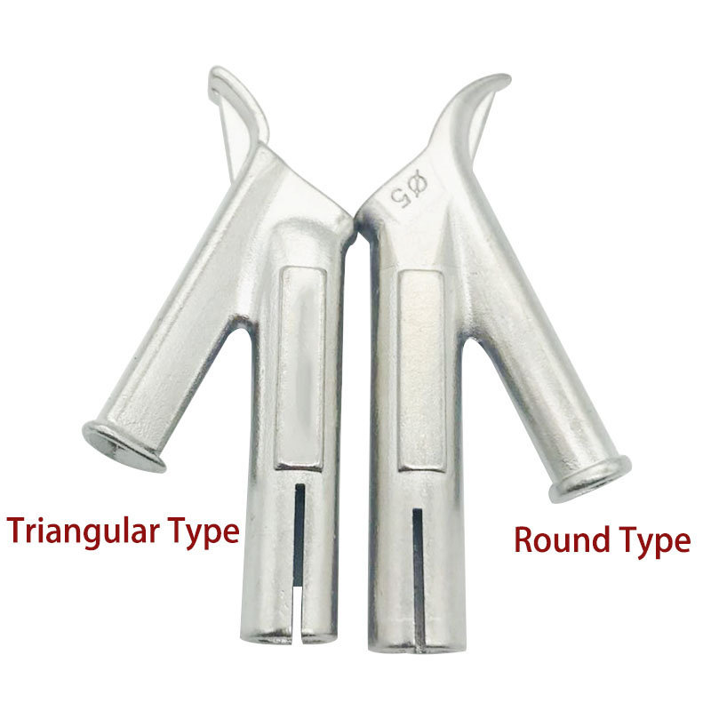 5mm/8mm  Speed Welding Nozzle Round/Triangular Welding Tip For Plastic Leister Vinyl Welder 1pc